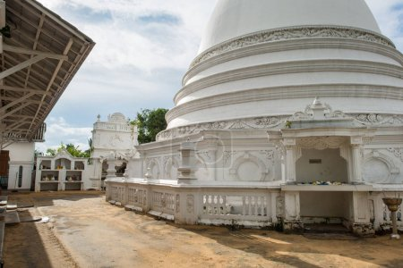 Stupa dome at buddha temple