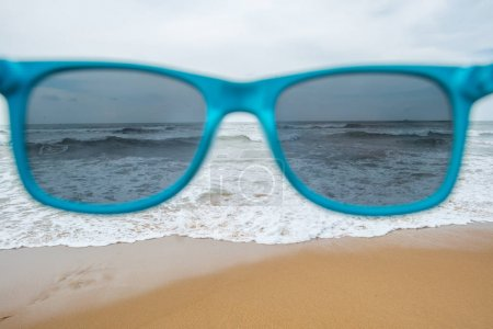 sea through sunglasses