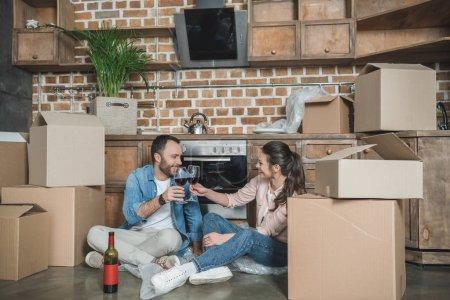 celebrating relocation