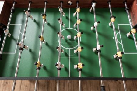 Photo for Close-up view of table football, selective focus - Royalty Free Image