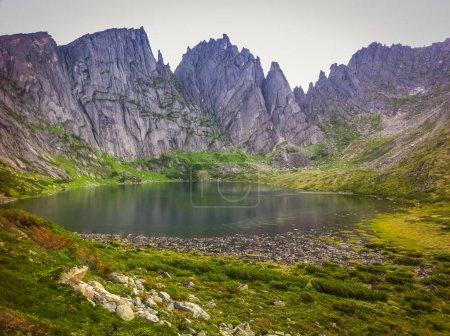 Photo pour Lac Bear dans le territoire de Khabarovsk Russie - image libre de droit