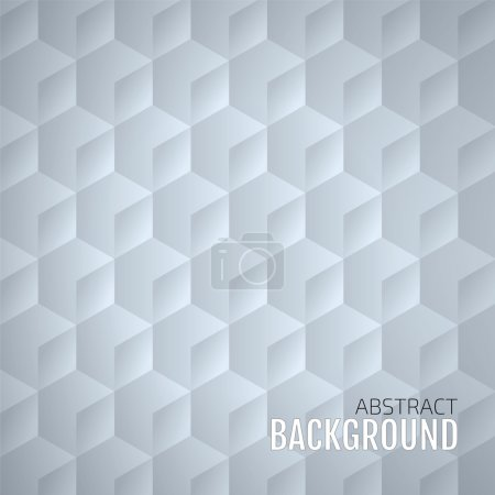 Illustration for Abstract Geometrical background, Vector Design - Royalty Free Image