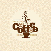 Coffee design template