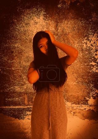 Foto de Fantasma en casa embrujada - Imagen libre de derechos