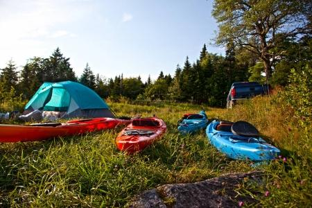 wilderness adventure camping