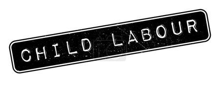 Child Labour rubber stamp