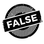 False rubber stamp