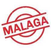 Malaga rubber stamp