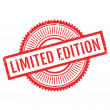 Limited edition stamp. Grunge design with dust scr...