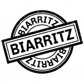 Biarritz rubber stamp
