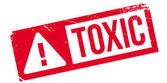 Toxic rubber stamp