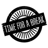 Time for a break stamp