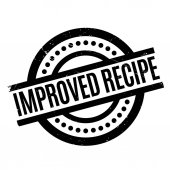 Improved Recipe rubber stamp