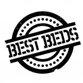 Best Beds rubber stamp Grunge design with dust scratches Effects can be easily removed for a clean crisp look Color is easily changed