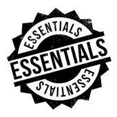 Essentials rubber stamp Grunge design with dust scratches Effects can be easily removed for a clean crisp look Color is easily changed
