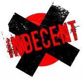 Indecent rubber stamp
