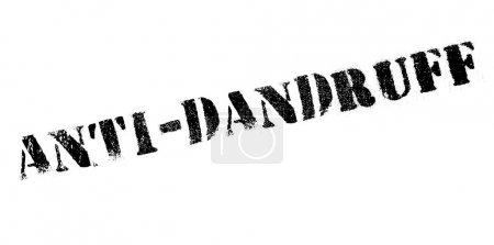 Anti-Dandruff rubber stamp