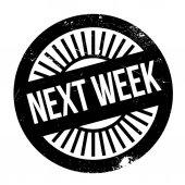 Next week stamp