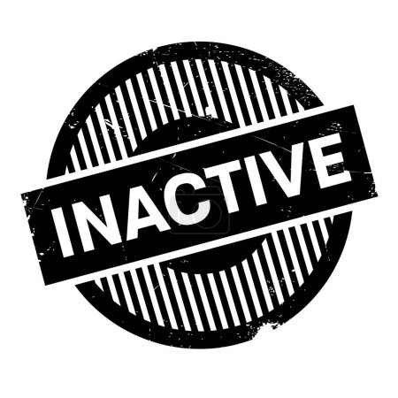 Inactive rubber stamp