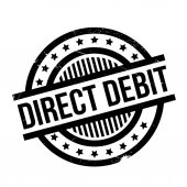 Direct Debit rubber stamp