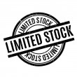 Limited Stock rubber stamp. Grunge design with dus...