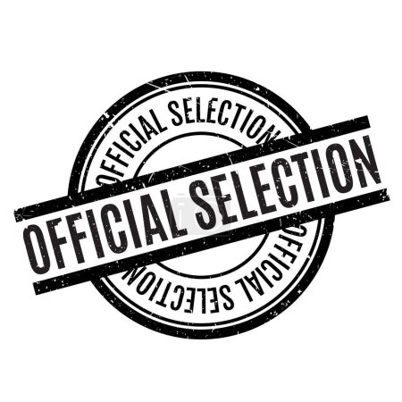 Official Selection rubber stamp