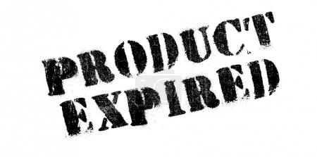 Product Expired rubber stamp