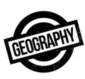 Geografie razítko