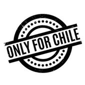 Only For Chile rubber stamp