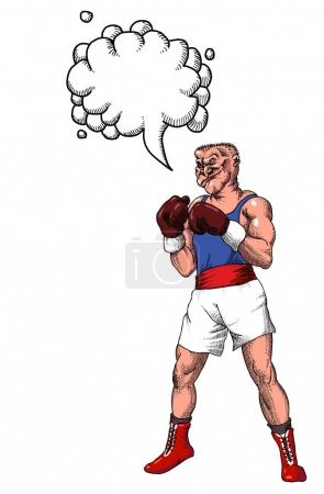 boxer-100 Cartoon image
