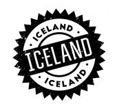 Iceland rubber stamp