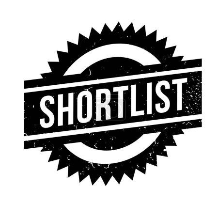 Shortlist rubber stamp