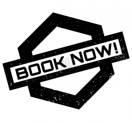 Book Now rubber stamp