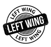 Left Wing rubber stamp