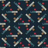 London creative pattern