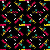 London pattern seamless design