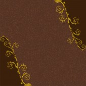 Classic vine pattern background material