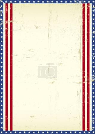 American frame background