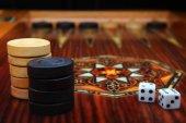 backgammon elite wooden game