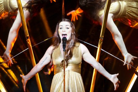 Lucie Jones from United Kingdom at the Eurovision Song Contest