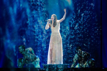 Demy from Greece at the Eurovision Song Contest