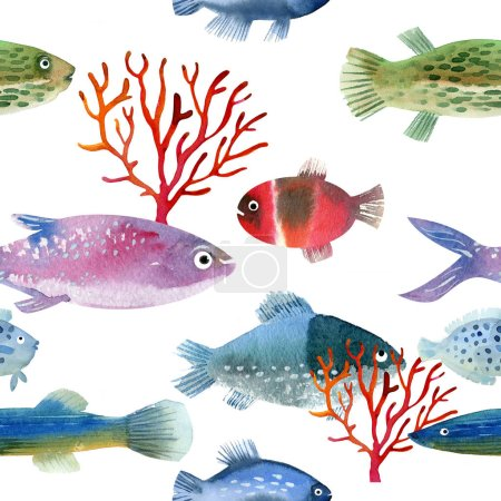 sea life, different fishes
