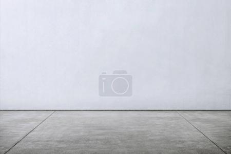 Photo pour Carreaux sol en marbre avec mur blanc pour toile de fond - image libre de droit