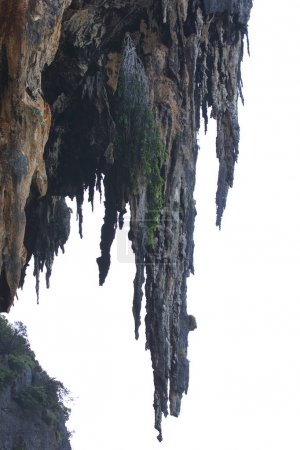 Details and forms of rocks on Railay peninsula, Thailand