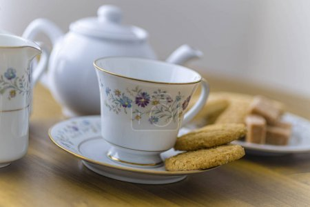 Tea & Biscuits on China