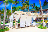 Massage on the beach in Punta Cana