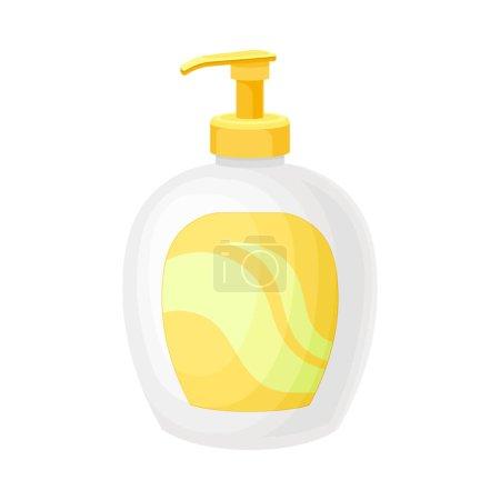 Liquid Soap or Foam in Dispenser Plastic Bottle Ve...