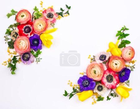 Festive flowers composition