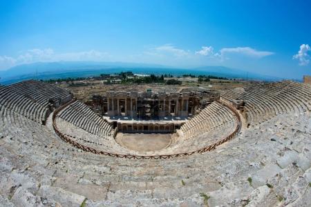 Roman Theater in Pamukkale the