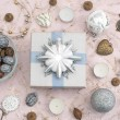 Decor for new year decorations on the Christmas tr...